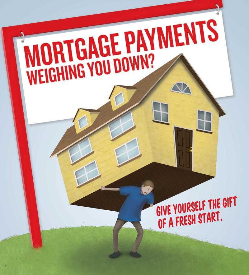 Cartoon mortgage-payments-weighing-you-down small