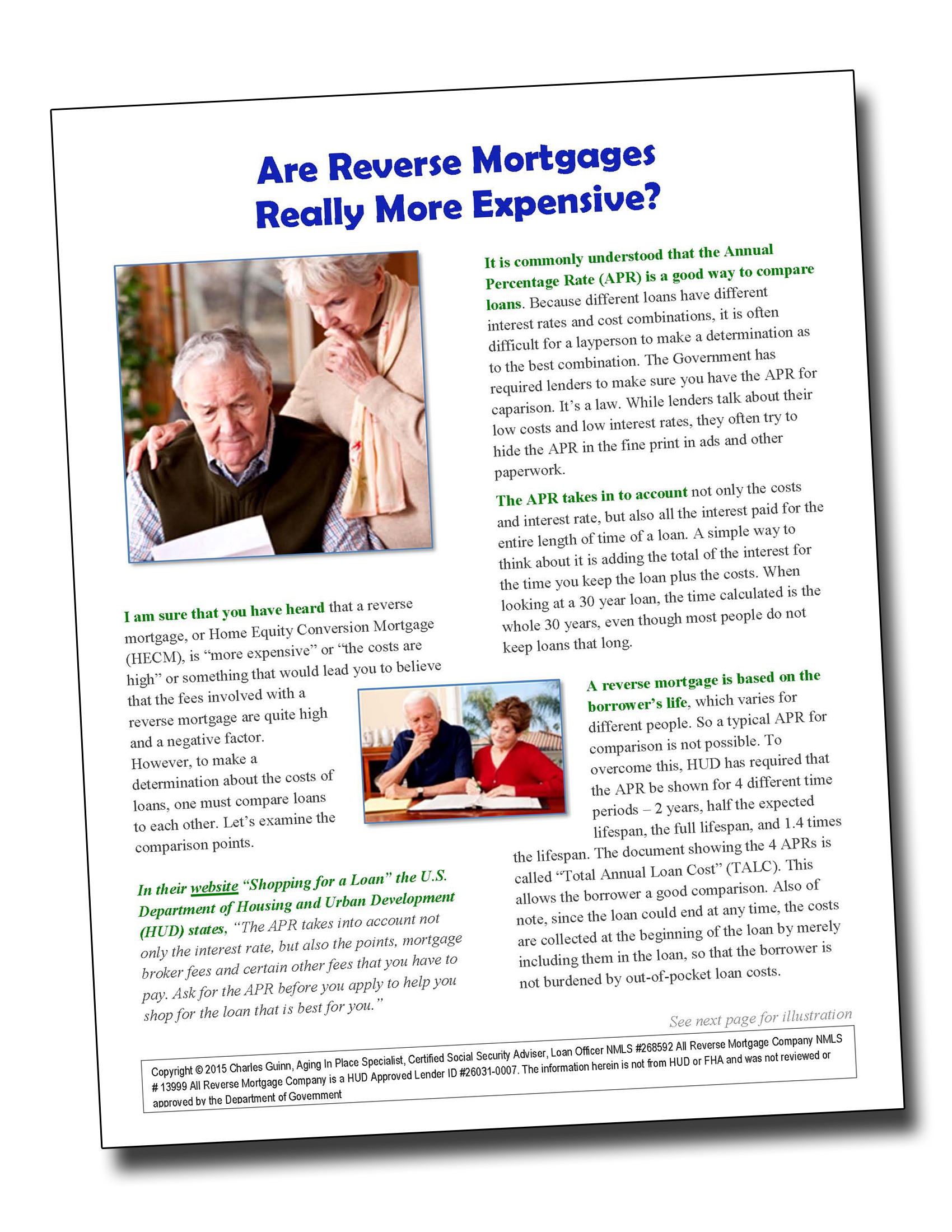 Pages from Are Reverse Mortgages Really More Expensive